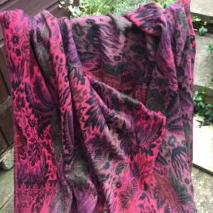 Paisley Leaf Soft Blanket or Shawl Colour 1
